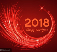 Congratulate for the coming 2018 New Year