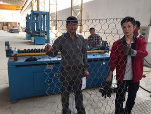 Gabion net Bordering Machine