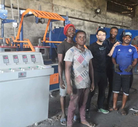 we have finished installation and commissioning of nail making machine, wire drawing machine for our Nigeria customer