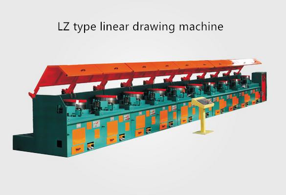 LZ type linear drawing machine